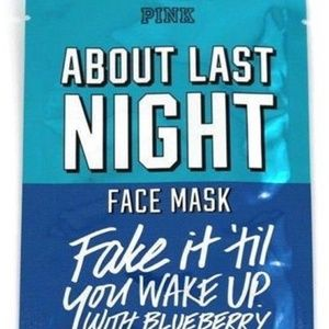 "VS ""ABOUT LAST NIGHT Face Mask NEW"